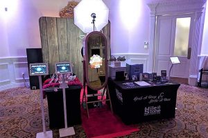 Milestone Photo Booth Rental NJ Corporate Activation Packages Pricing Magic Retro Mirror Digital Express Bridal Show New Jersey New York Pennsylvania