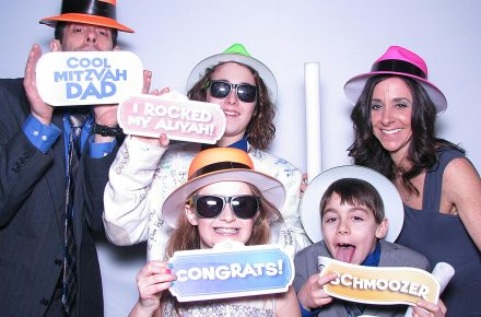 Milestone Photo Booths NJ Bar Mitzvah Events Cool Jewish Props New Jersey New York Pennsylvania