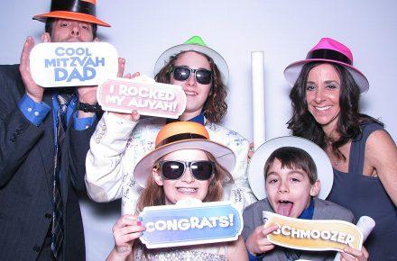 Milestone Photo Booths NJ Bar Mitzvah Events Cool Jewish Props New Jersey New York Pennsylvania