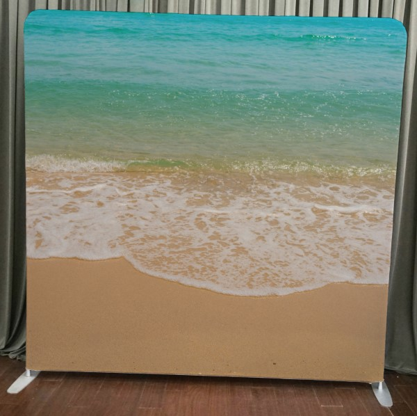 Milestone Photo Booth Rental NJ Beach Time Backdrop Open Air Special Event Keyport New Jersey New York Pennsylvania