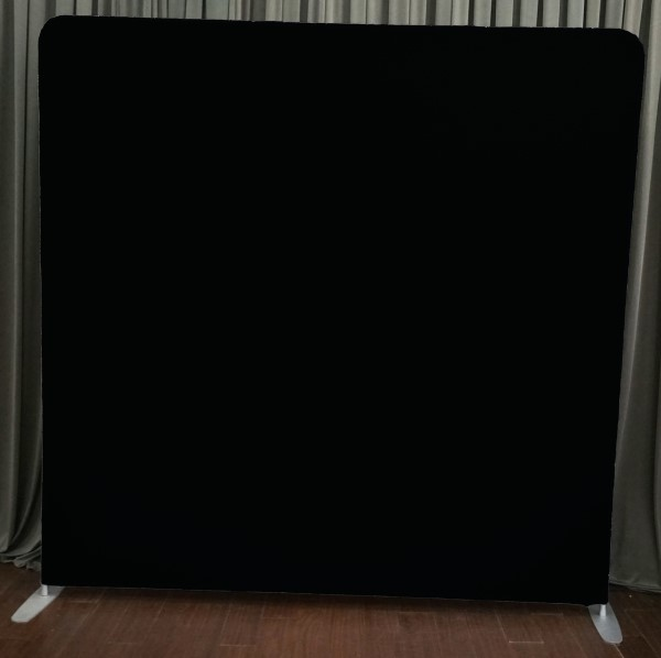 Milestone Photo Booth Rental NJ Black Backdrop Open Air Special Event Keyport New Jersey New York Pennsylvania