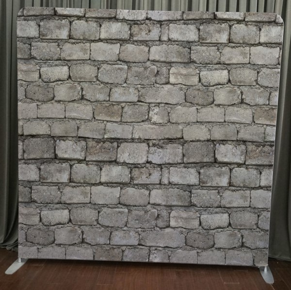 Milestone Photo Booth Rental NJ Brick Wall Backdrop Open Air Special Event Keyport New Jersey New York Pennsylvania