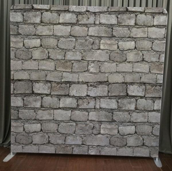 Milestone Photo Booth Rental NJ Brick Wall Backdrop Open Air Special Event Keyport New Jersey New York Pennsylvania