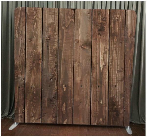 Milestone Photo Booth Rental NJ Dark Wood Backdrop Open Air Special Event Keyport New Jersey New York Pennsylvania