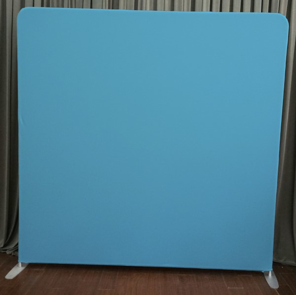 Milestone Photo Booth Rental NJ Light Blue Backdrop Open Air Special Event Keyport New Jersey New York Pennsylvania