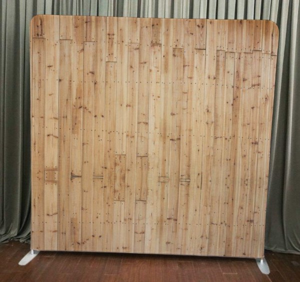 Milestone Photo Booth Rental NJ Light Wood Backdrop Open Air Special Event Keyport New Jersey New York Pennsylvania