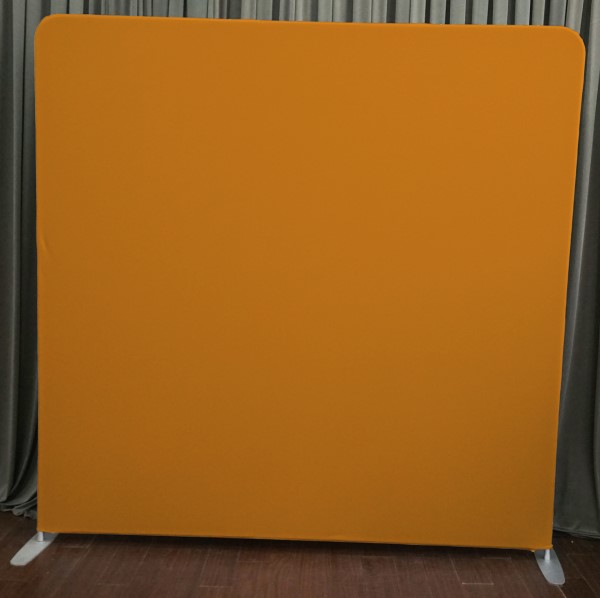 Milestone Photo Booth Rental NJ Orange Backdrop Open Air Special Event Keyport New Jersey New York Pennsylvania
