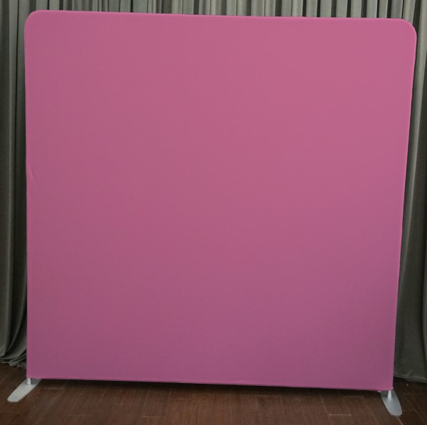 Milestone Photo Booth Rental NJ Pink Backdrop Open Air Special Event Keyport New Jersey New York Pennsylvania