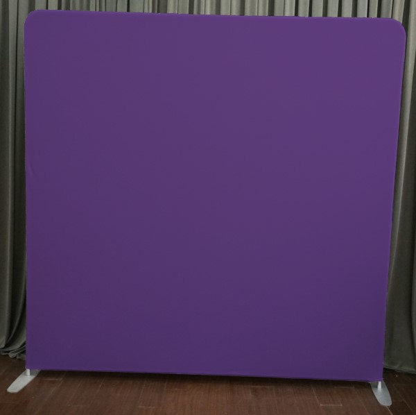 Milestone Photo Booth Rental NJ Purple Backdrop Open Air Special Event Keyport New Jersey New York Pennsylvania
