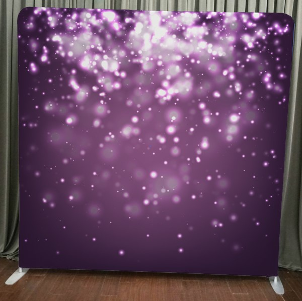 Milestone Photo Booth Rental NJ Purple Bokeh Backdrop Open Air Special Event Keyport New Jersey New York Pennsylvania