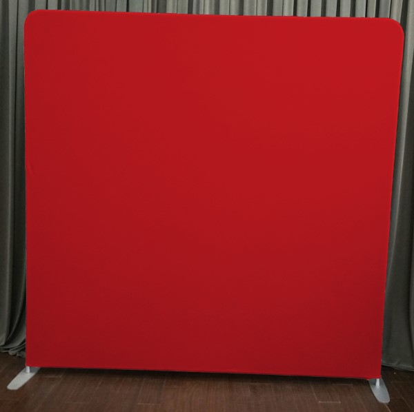 Milestone Photo Booth Rental NJ Red Backdrop Open Air Special Event Keyport New Jersey New York Pennsylvania