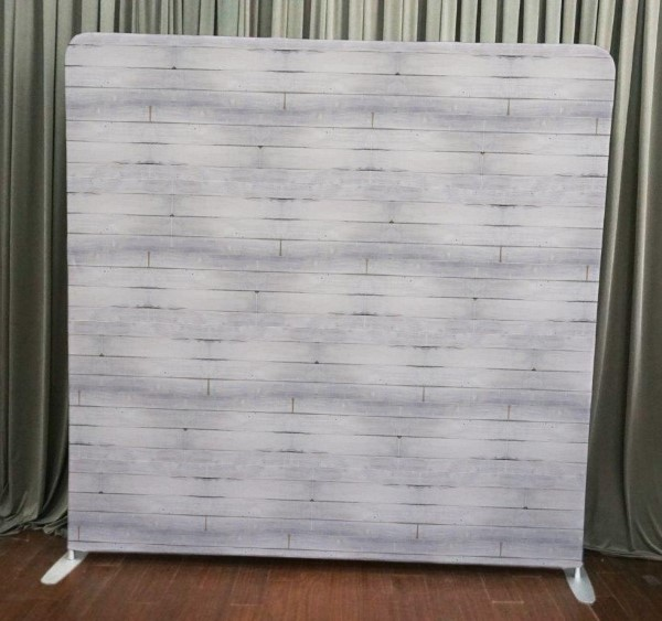Milestone Photo Booth Rental NJ White Wash Wood Backdrop Open Air Special Events Keyport New Jersey New York Pennsylvania