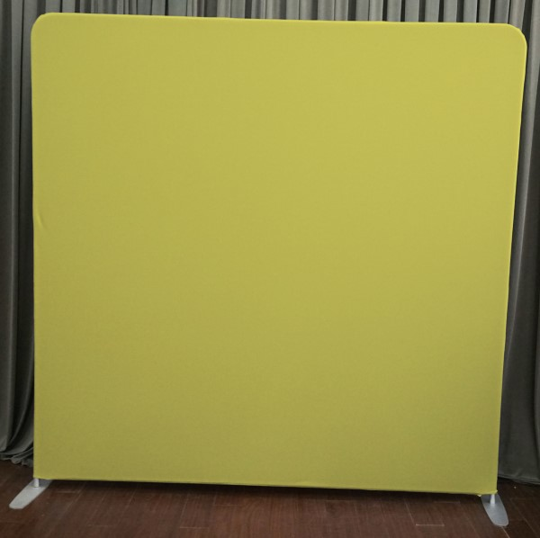 Milestone Photo Booth Rental NJ Yellow Backdrop Open Air Special Event Keyport New Jersey New York Pennsylvania
