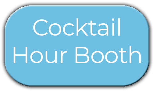 Milestone Photo Booths NJ Add On Upgrade Accessory Cocktail Hour Booth Blue Circle Events Keyport New Jersey New York Pennsylvania