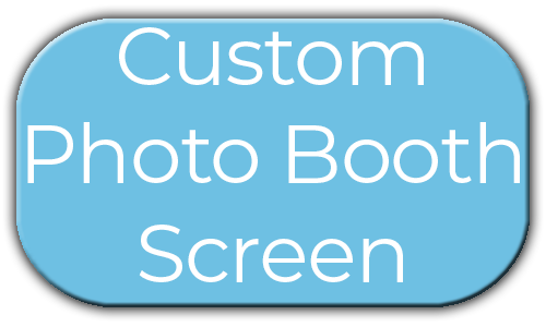 Milestone Photo Booths NJ Add On Upgrade Accessory Custom Photo Booth Screen Blue Circle Events Keyport New Jersey New York Pennsylvania