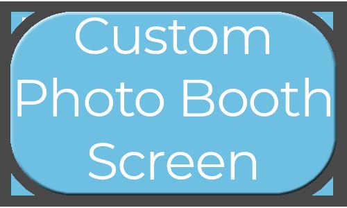 Milestone Photo Booths NJ Add On Upgrade Accessory Custom Photo Booth Screen Blue Circle Events Keyport New Jersey New York Pennsylvania