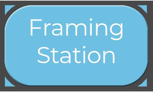 Milestone Photo Booths NJ Add On Upgrade Accessory Framing Station Frames Blue Circle Events Keyport New Jersey New York Pennsylvania