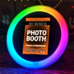 Milestone Photo Booth Rentals Rainbow Ring Roamer Mitzvah Specialty Product